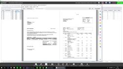 Vorschau einer Mahnung mit Rechnungskopie
